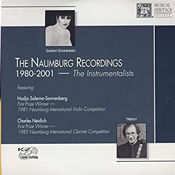 The Naumberg Recordings, 1980-2001: The Instrumentalists, Vol. 1 - Carol Wincenc