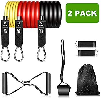 2-Pack Senymin Exercise Bands Set