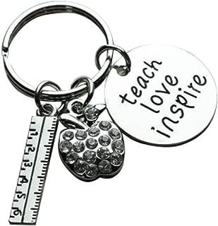 Infinity Collection Teacher Keychain, Teacher Jewelry, Teacher Gift - Show Your Teacher Appreciation