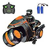 Remote Control Car Toys for Boys, RC Car Stunt Motorcycles 2.4Ghz 360° Spinning High Speed Racing...