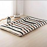 <span class='highlight'><span class='highlight'>TUTUMAO</span></span> Sleeping Tatami Floor Mat, Foldable Futon Tatami Mattress Soft Thick Student Dormitory Mattress Pad-Gray Full (Color : P, Size : 90×200cm)