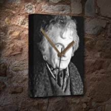 IAN HOLM - Canvas Clock (LARGE A3 - Signed by the Artist) #js001