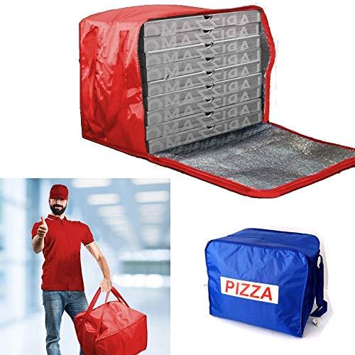 Bolsa porta pizzas, mochila térmica para pizza, alimentos, bebidas, contenedor de transporte