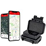 Logistimatics 4G Pocket Tracker for Vehicles, Cars, Family - Tiny GPS Tracker with 30 Second Location Updates and Real-time Tracking + Magnetic Waterproof Case