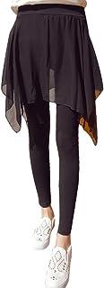(らっこう) Legou レディース ファッション フレアスカート 付き レギンス スカッツ