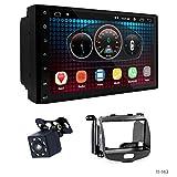 UGAR EX6 7' Android 6.0 Autoradio GPS Navigateur Stéréo De Voiture + 11-143 Kit de Fascia pour Hyundai i-10 2008-2013
