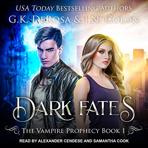 Dark Fates audiobook cover art