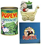 Eat's Me Spinach! Popeye The Sailor Sweet Pea Salt and Pepper Shakers Set