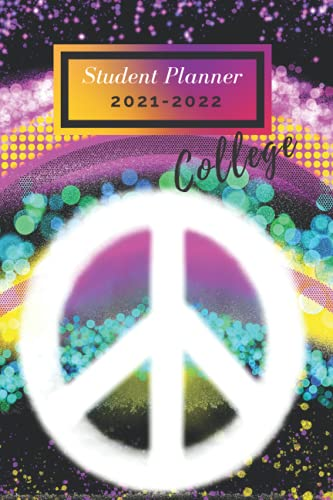 Student Planner 2021-2022 College: Pretty Nice Gift Student Planner Academic Year 2021-2022, Weekly Plan Organizer, Calendar Agenda Small Size 6x9 (Back To School)