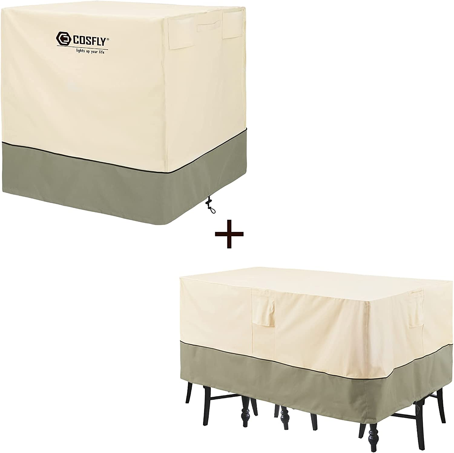 COSFLY Outdoor Air Conditioner Covers Waterproof Finally resale start Patio and OFFicial mail order Furni