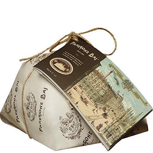 Panettone Baj. Seit 1768 - 1 kg - Traditionelle Mailänder Torte mit historischem Booklet