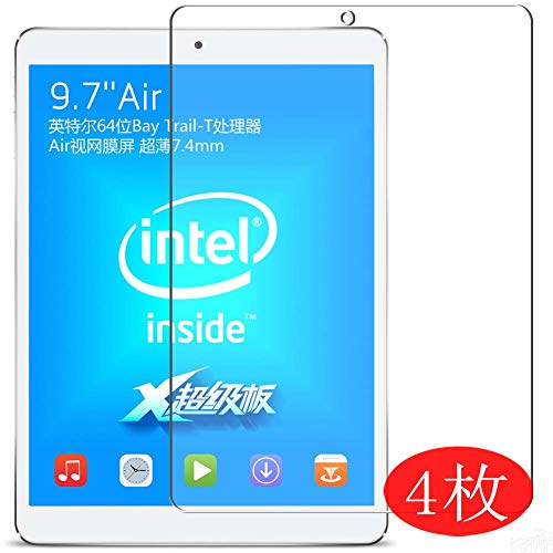 【4 Pack】 Synvy Screen Protector for Teclast X98 Air TPU Flexible HD Clear Case-Friendly Film Protective Protectors [Not Tempered Glass] New Version