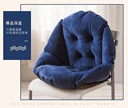 FKIHK SitzkissenSofakissen, Dekokissen in Muschelform, Bodenkissenmatte, Bürostuhlkissen Home Decor Kissenauflage, 3,42x48x23cm