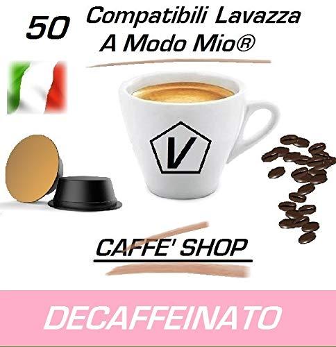 "Cápsulas compatibles Lavazza A Modo Mio®, Cápsulas Mezcla ""Descafeinado"" Linea Espresso (50 Cápsulas)"