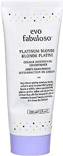 Evo Fabuloso Platinum Blonde Colour Intensifying Conditioner, 7.5  Fl Oz