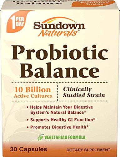 Sundown Probiotic Balance, 30 Capsules
