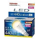 東芝 E-CORE(イー コア) LED電球 ミニクリプトン形 5.6W (明るさ重視タイプ 密閉形器具対応 断熱材施工器具対応 口金直径17mm 小型電球40W相当 440ルーメン 電球色) LDA6L-H-E17/S