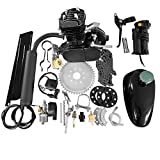 MOTOOS 2-stroke 50cc engine kit Fit For most 26' or 28' wheeled bikes with V-frame For Bicycle Mountain and Road Bike Gas Motorized Motor Bike