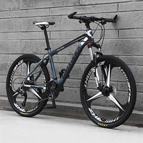Best Deals! Tbagem-Yjr 26 Inch Mens Mountain Bike, Sports Leisure Mens MTB Riding Damping Mountain B...