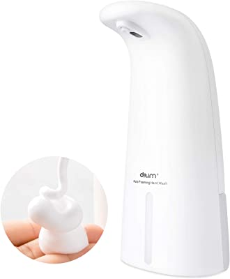 TOWOOZ ソープディスペンサー 自動 泡タイプ オートセンサー 電池式250ml キッチン洗面所 残量確認可IPX4防水 細菌抑制 非接触式 家庭用