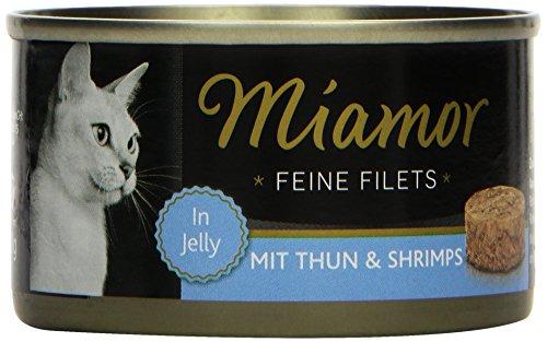 Miamor Feine Filets Thun & Shrimps 24x100g