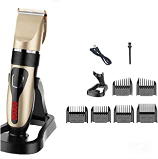 Hair Clippers Trimmer Kit, Charging Mode Hair Trimmer Balding Shavers, Waterproof, 3 Hours Endurance, LCD Display