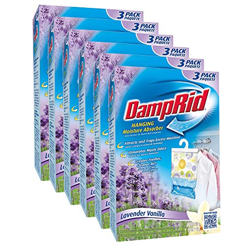 Review Of Damp Rid Moisture Absorber DampRid Lavender & Vanilla Hanging Moisture Absorber