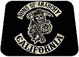 Hijos De La Anarquia Sons of Anarchy Samcro Redwood Original Men of Mayhem A Alfombrilla Mousepad PC