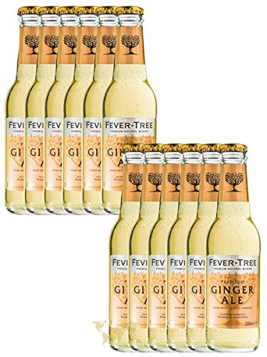 Fever Tree Ginger Ale 12 x 0,2 Liter