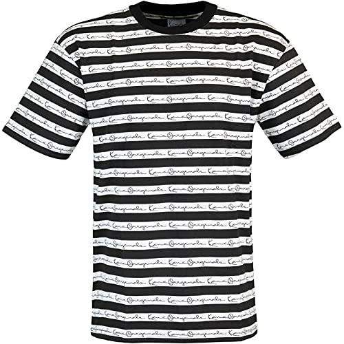 Karl Kani Originals Stripe T-Shirt (L, White)