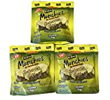 Mt.Olive Munchies Chips 4.8 Fl. Oz Pack Of 3! Kosher Dill Chips Snack! Made With Sea Salt And...