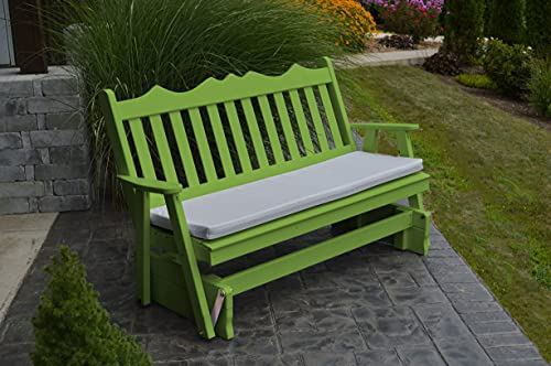 Fine Where To Purchase Outdoor 5 Foot Royal English Porch Glider Machost Co Dining Chair Design Ideas Machostcouk