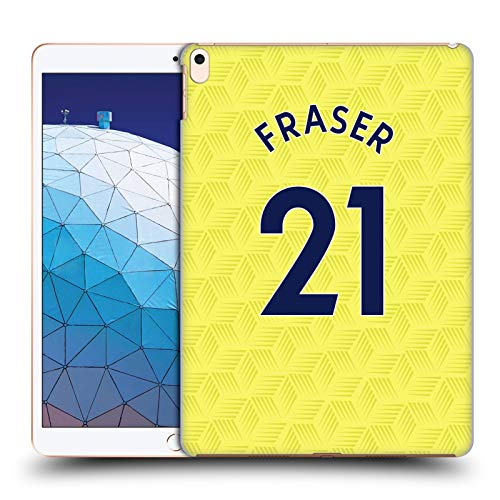 Official Newcastle United FC NUFC Ryan Fraser 2020/21 Players Away Kit Group 1 Hard Back Case Compatible for Apple iPad Air (2019)