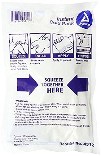 Dynarex 4512 Instant Cold Pack 5