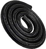YiMusic Tubo flessibile per aspirapolvere, diametro interno 40 mm, per aspirapolvere in plastica EVA