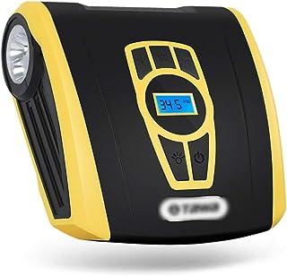 BABYSq Compresseur dair Portable avec d/étection de Pression dair et darr/êt Automatique de gonflage gonfleur de Pneu Portable 100PSI 2000mAh pour Anneau de Natation de Pneu de v/élo de Voiture