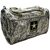 U.S. Army Camouflage Official Licensed Duffel Gym Luggage...