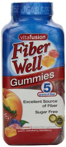 vitafusion Fiber Gummies, 220 Count,5g of fiber, 'Sugar Free'