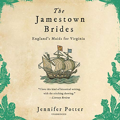 The Jamestown Brides Audiobook By Jennifer Potter cover art