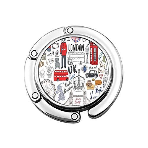 SHIZI I Love London - Colgador para bolso (1 unidad)