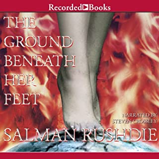 The Ground Beneath Her Feet audiobook cover art