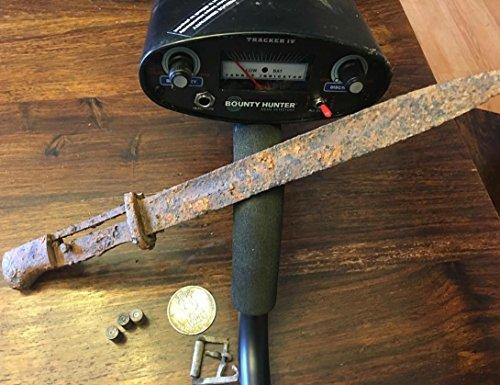 Bounty Hunter Tracker IV Metal Detector with adjustable trash elimination