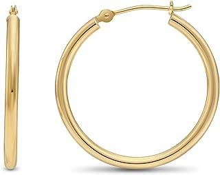 Best 1 1 2 inch gold hoop earrings Reviews