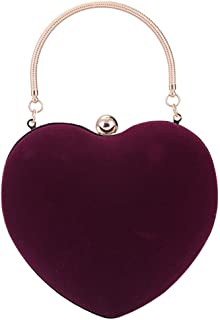 Clutch Bag, Brand New Ladies Clutch Bag Evening Party/Bridal Wedding/Hand Bag,Purple