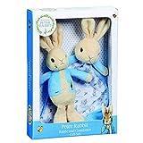 Rainbow Designs - Peter Rabbit - Set de regalo de traqueteo y consolador