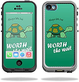 MightySkins Skin Compatible with LifeProof iPhone 5C Fre Case – Late Turtle | Protective, Durable, and Unique Vinyl Decal wrap Cover | Easy to Apply, Remove, and Change Styles | Made in The USA