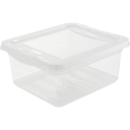 keeeper Clearbox with Air Control System, 19.5x16.5x8.5 cm, 1.7 Litre, Bea, Transparent