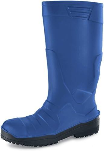 Chaussures pour Crews PU Sentinel Unisexe Bottes, taille 7, Bleu