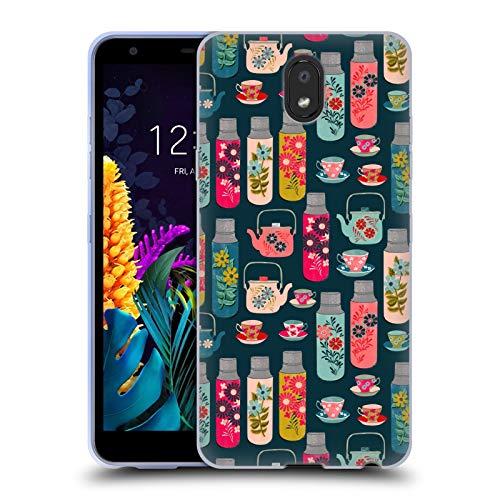 Officiële Andrea Lauren Design Thermoskan Voedsel Patroon Soft Gel Case Compatibel voor LG K30 (2019)