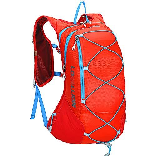 Sac à dos extérieur Sacs à dos étanches avec soutien dorsal rembourré et bretelles réglables coussinées Sac à dos idéal pour la randonnée, le cyclisme, le vélo de montagne et le ski 15L pour hommes et